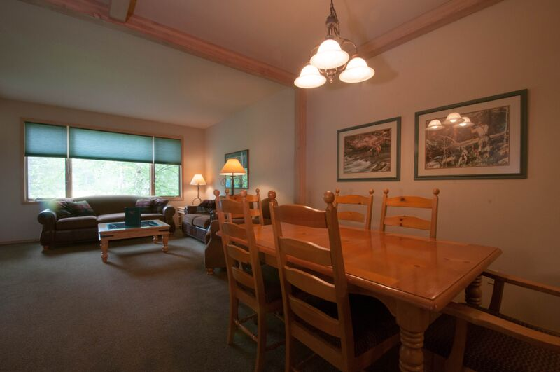 Condo Two Bedroom Dining & Living Main Unit