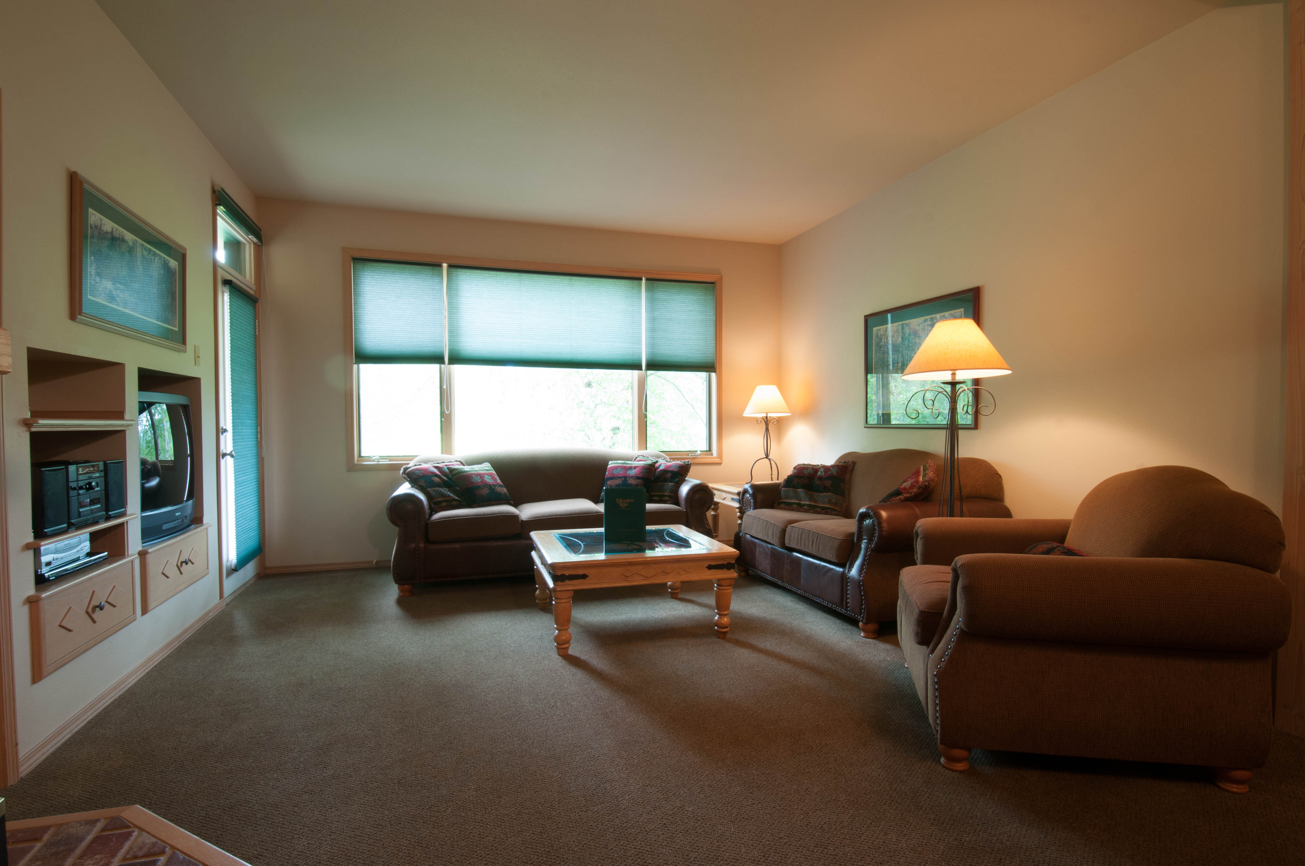 Condo Two Bedroom Living Main Unit