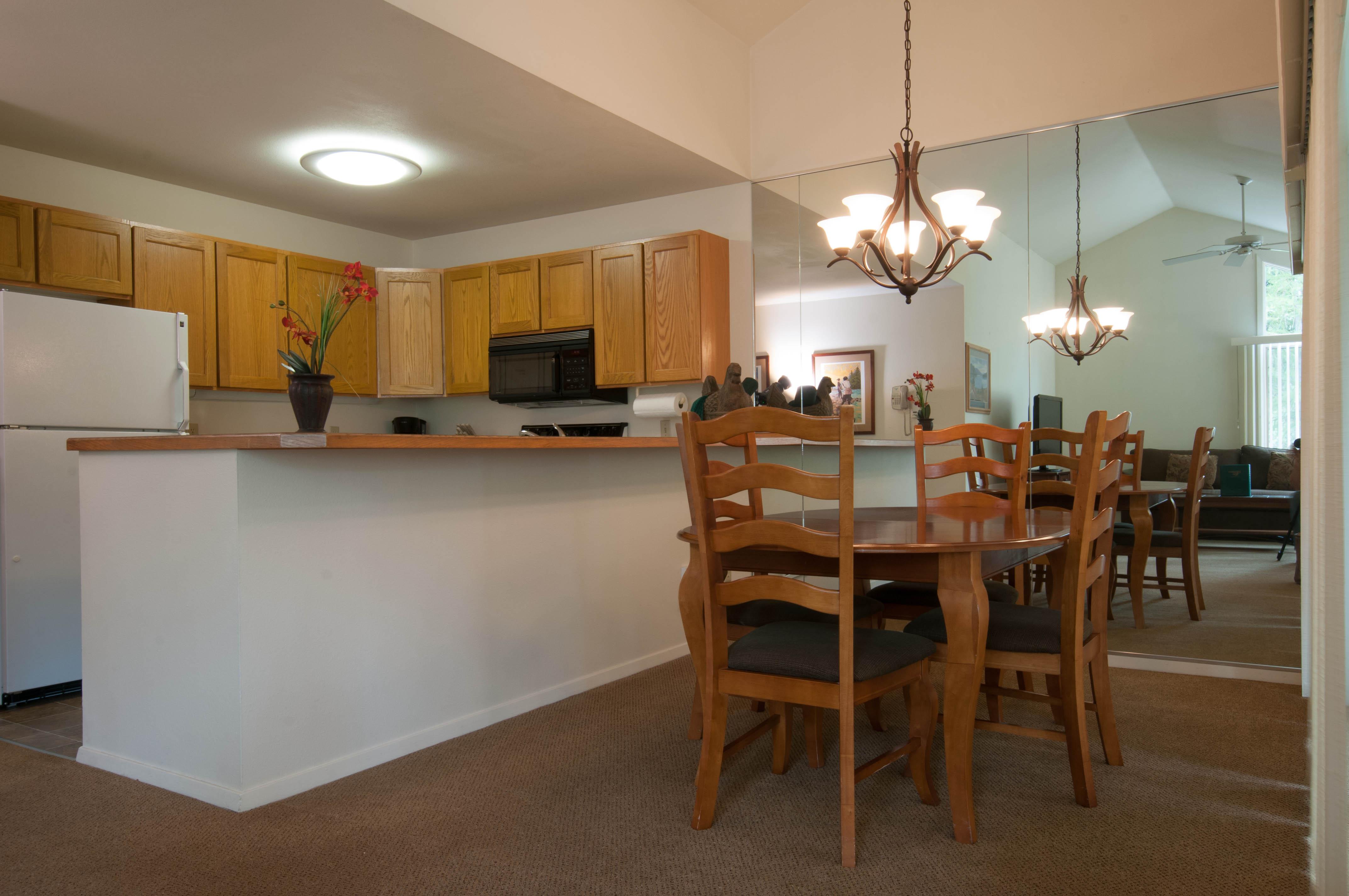 Condo Two Bedroom Loft Kitchen
