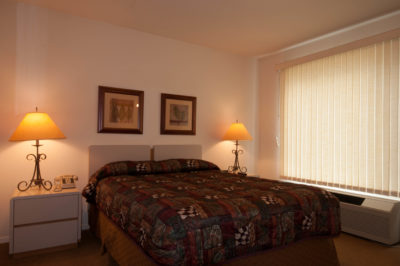 Condo Two Bedroom Loft Main Bedroom