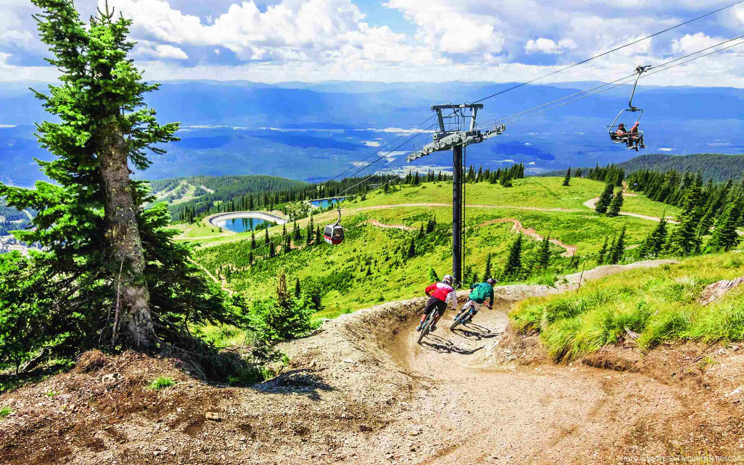 summer thrills for all ages on top of whitefish mountain resort